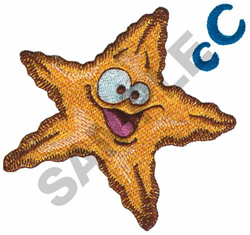 STARFISH embroidery design
