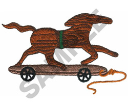 WOODEN TOY embroidery design
