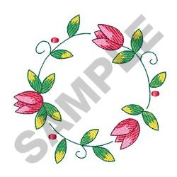 TULIP FOURTEEN embroidery design
