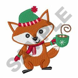 FOXY CHRISTMAS embroidery design
