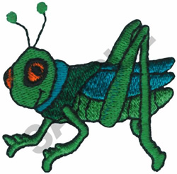 GRASSHOPPER embroidery design