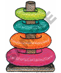 STACKING RINGS embroidery design
