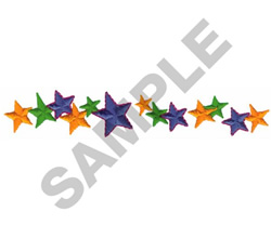STAR BORDER embroidery design