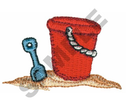 PAIL AND SHOVEL embroidery design