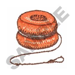YO-YO embroidery design