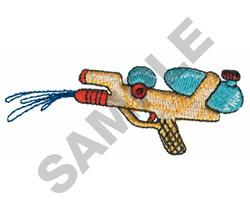 WATER GUN embroidery design