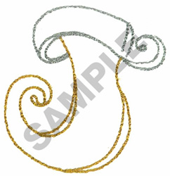 STOCKING embroidery design
