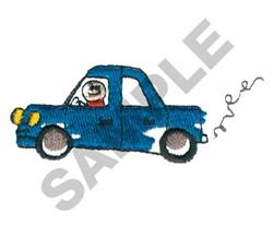 CAR embroidery design