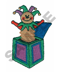JACK-IN-THE-BOX embroidery design