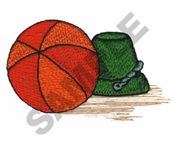 BALL AND PAIL embroidery design