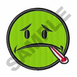 SICK FACE embroidery design