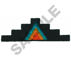 SOUTHWEST BORDER embroidery design