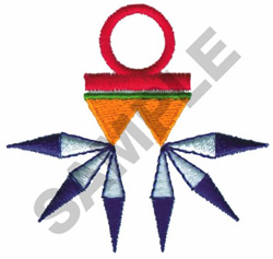 HOPI INDIAN DESIGN embroidery design