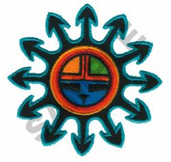 HOPI INDIAN DESIGN embroidery design