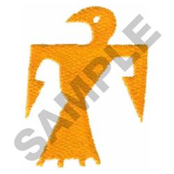 HIEROGLYPH BIRD embroidery design