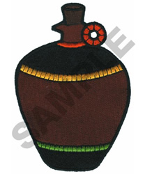 AFRICAN VASE embroidery design