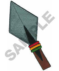 AFRICAN SPADE embroidery design