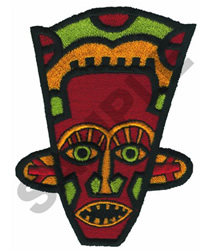 AFRICAN MASK embroidery design