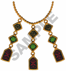 AFRICAN JEWELRY embroidery design