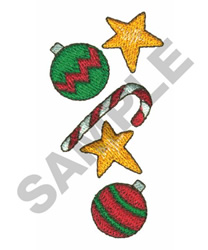 CHRISTMAS BORDER embroidery design