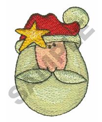 SANTA STAR embroidery design