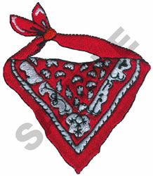 BANDANA embroidery design