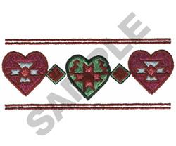 SOUTHWEST BORDER embroidery design