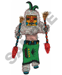 KACHINA DOLL embroidery design