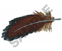 FEATHER embroidery design
