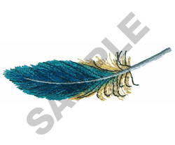 PARAKEET FEATHER embroidery design