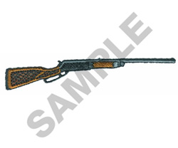 SHOTGUN embroidery design