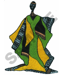 AFRICAN ART embroidery design