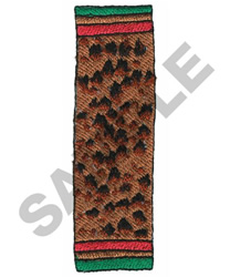 AFRICAN BORDER embroidery design
