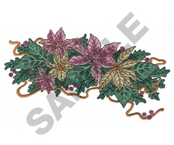 CHRISTMAS DECORATIONS embroidery design