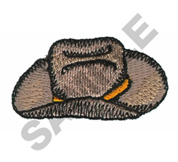Western Hat embroidery design