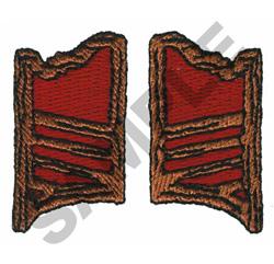 SWINGING DOORS embroidery design