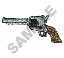 GUN embroidery design