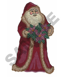 ST NICK embroidery design
