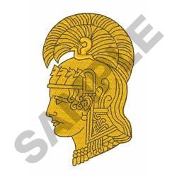 WAC Athena embroidery design