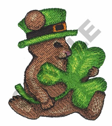 ST PATRICKS MOUSE embroidery design