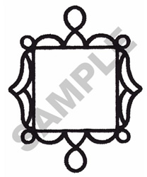 WROUGHT IRON FRAMEWORK embroidery design