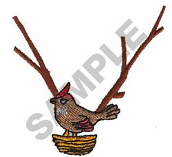 BIRD COLLLAR embroidery design
