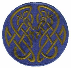 CELTIC EMBLEM embroidery design