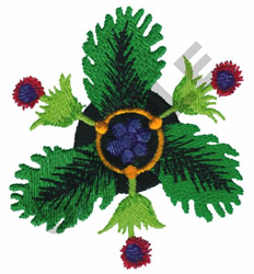 ROSETTE embroidery design