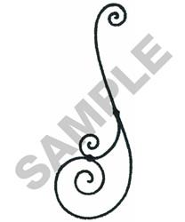 WROUGHT IRON BORDER embroidery design