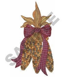 INDIAN CORN embroidery design