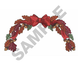 FALL GARLAND embroidery design