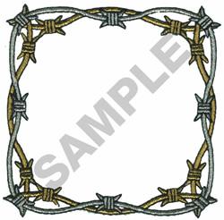 BARBWIRE BORDER embroidery design