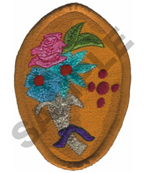 PENDANT embroidery design