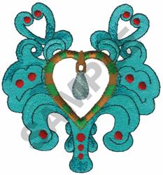 PENDANT embroidery design